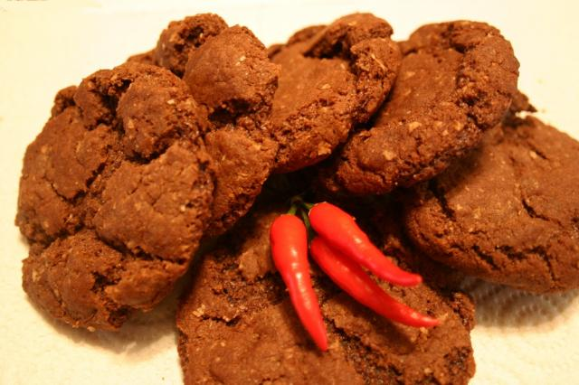 Chocolate Chili Cookies
